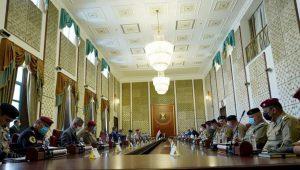 رئيس وأعضاء مجلس المفوضين يحضرون اجتماعاً مع رئيس مجلس الوزراء السيد مصطفى الكاظمي