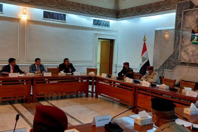 اللجنة الامنية العليا للانتخابات تعقد اجتماعها الدوري بمشاركة السيد مدير عام دائرة شؤون الأحزاب