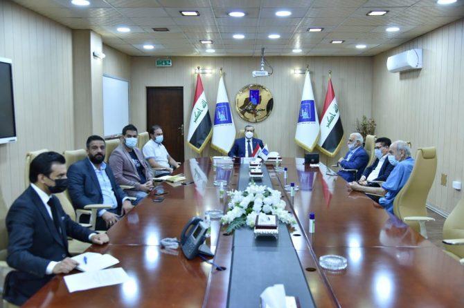 """""""ثاني اللقاءات مع المؤسسات الإعلامية""""  رئيس مجلس المفوضين يستقبل عدداً من رؤساء تحرير الصحف اليومية"""