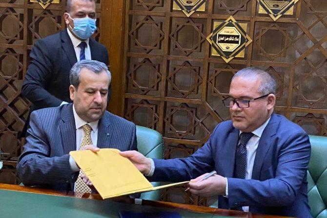 مفوضية الانتخابات توقع مذكرة تعاون مع أمانة بغداد