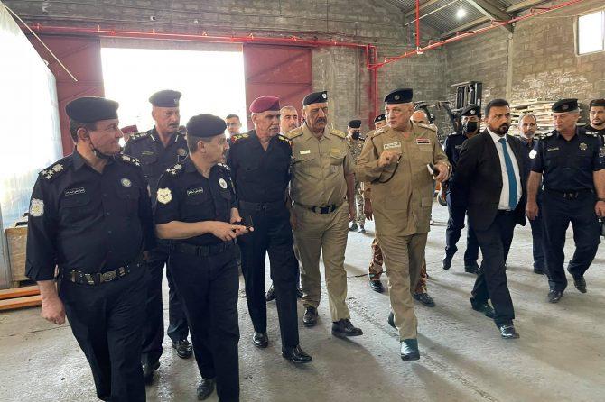 اللجنة الامنية العليا للانتخابات تعقد اجتماعها في محافظة دهوك
